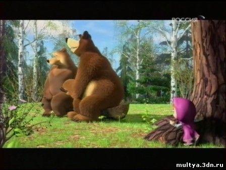 Скачать мультфильм маша медведь