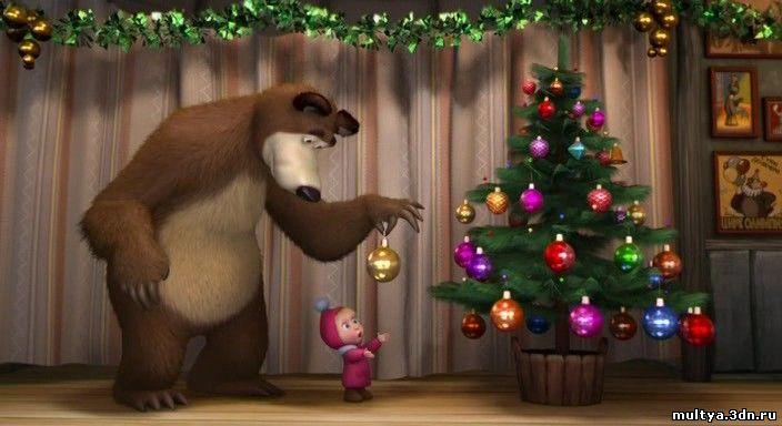 Мультфильм маша и медведь смотреть